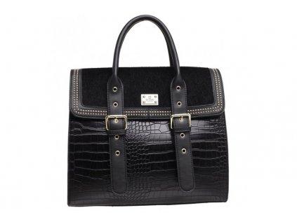 Velká černá kabelka Bessie London Devline