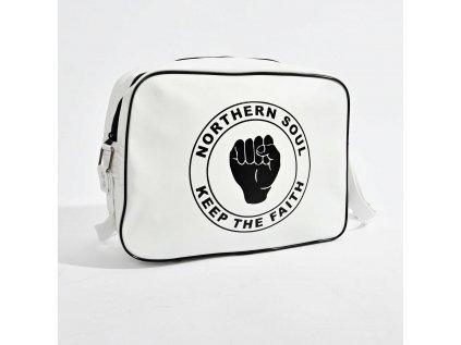 Bílá taška NORTHERN SOUL