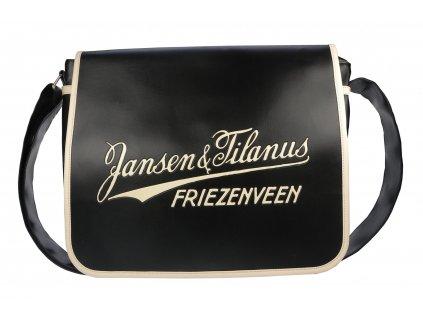 Černá taška Jansen & Tilanus
