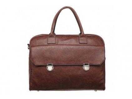Hnědá cestovní taška Bobby Black 11