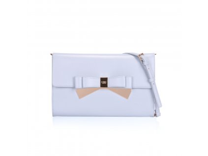 Psaníčko LYDC London Metallic Double Bow Clutch