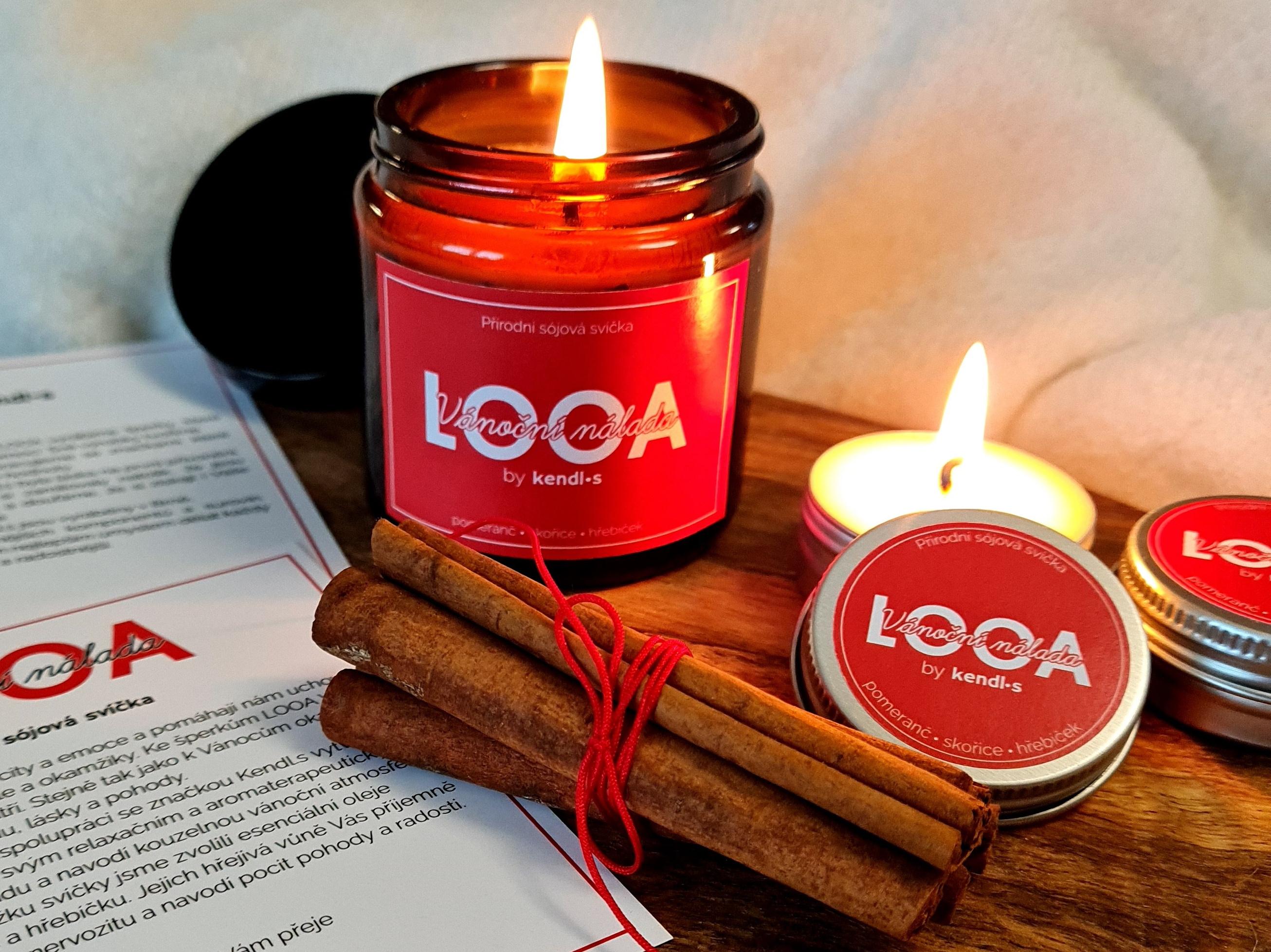 Vánoční LOOA svíčka: Takhle voní ty nejkrásnější Vánoce
