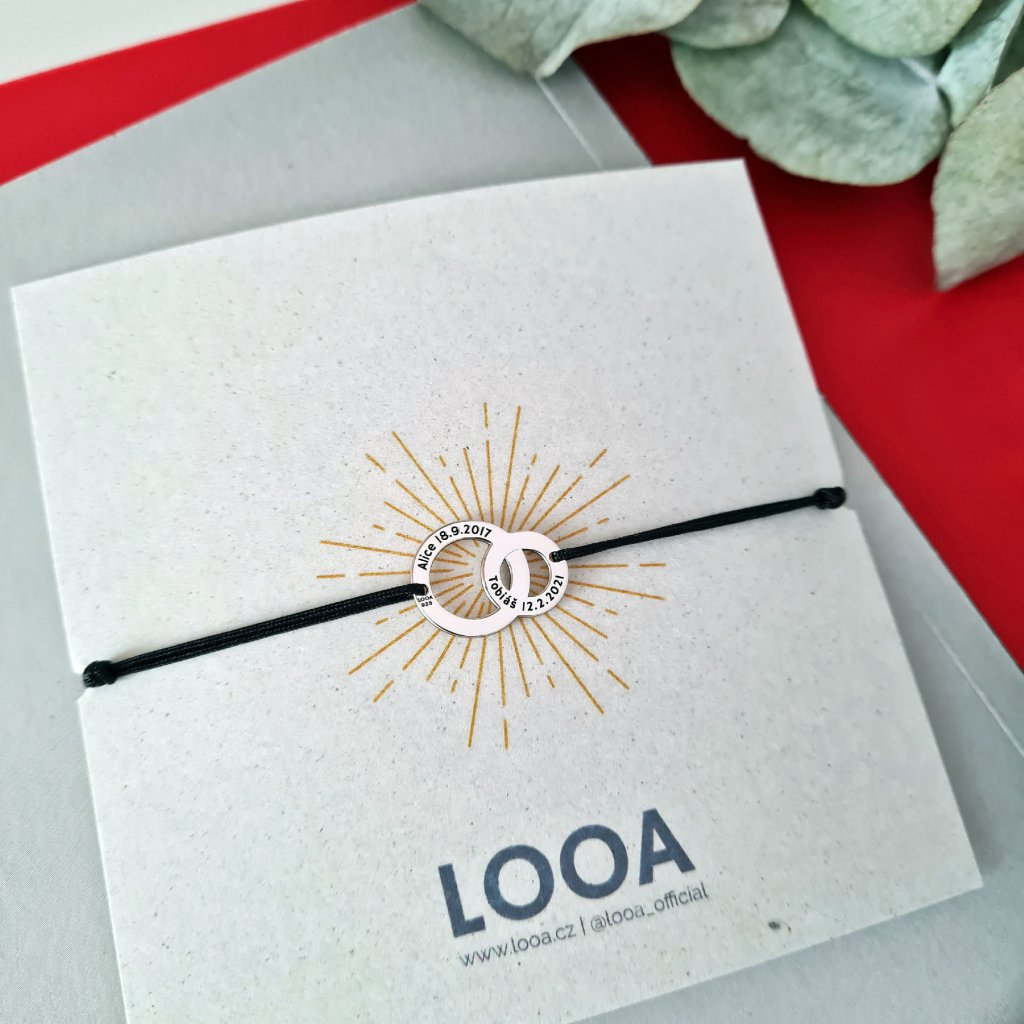 kroužky looa bestseller zlato stříbro šperky brno gravírování