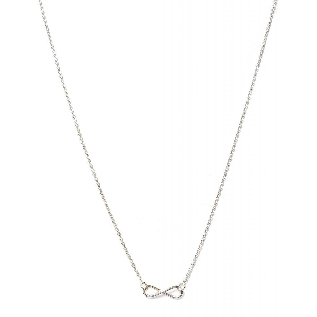 Nekonečno LOOA, stříbro, náhrdelník
