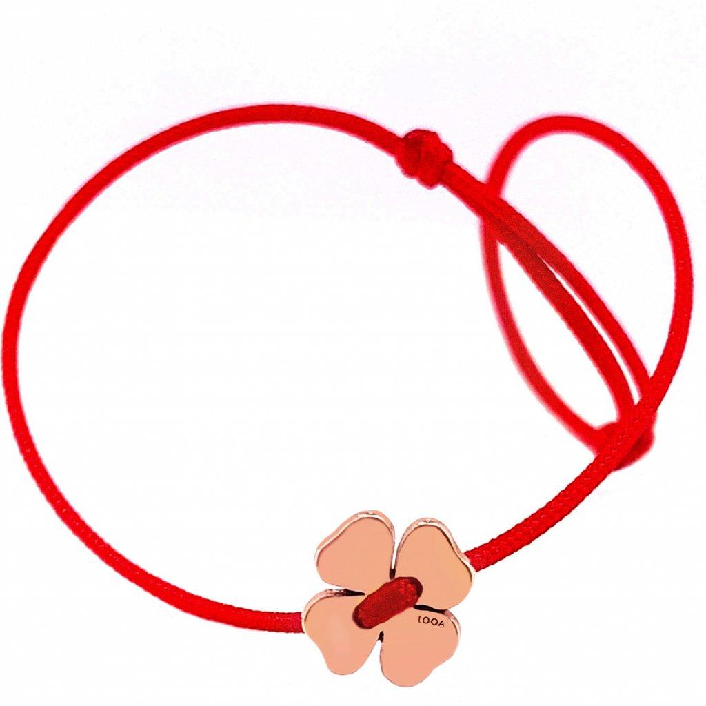 kabbalah LOOA šperky Brno zlato stříbro pozlacené stříbro červená šňůrka
