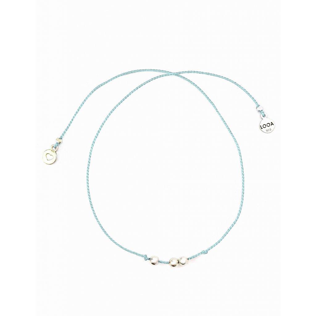 Tři přání LOOA světle modrá