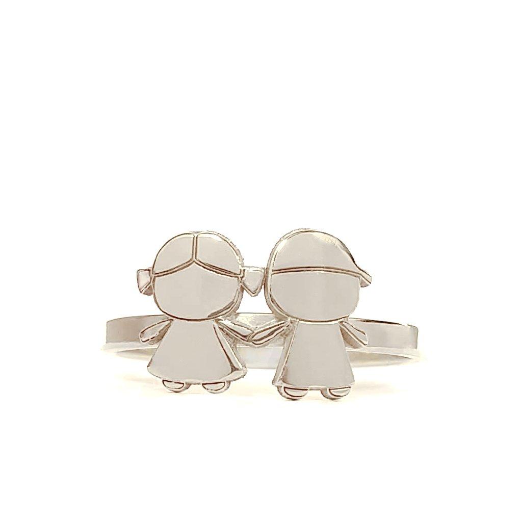 prsten LOOA, já a ty, stříbro