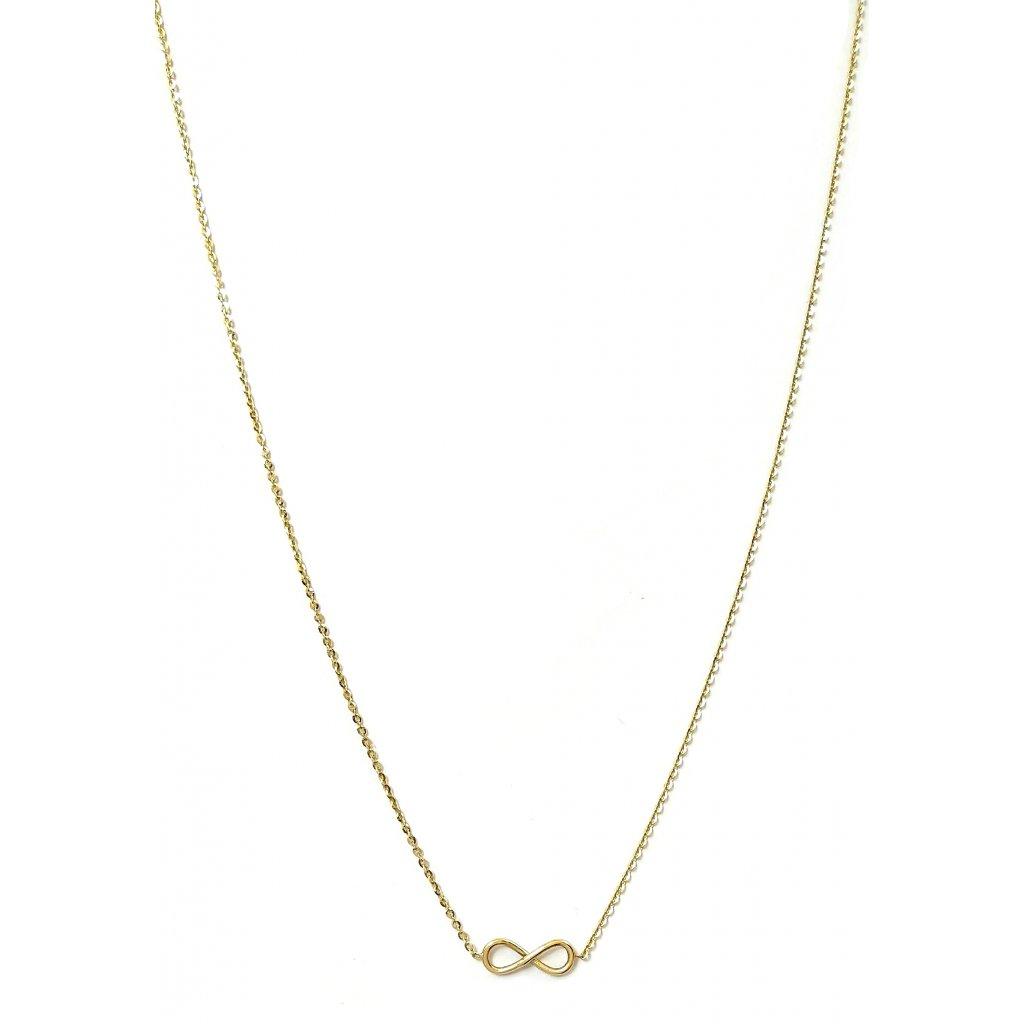 Nekonečno LOOA, zlato, náhrdelník