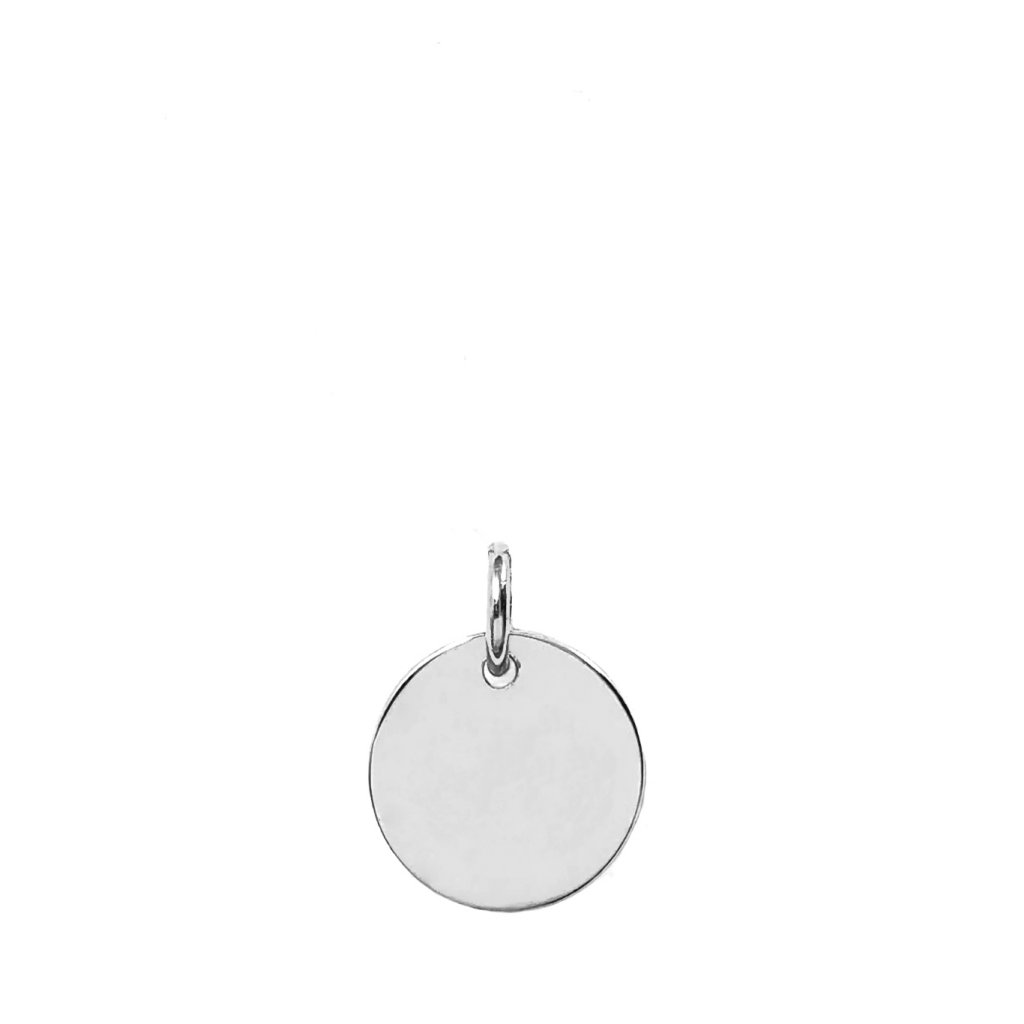 Medailon LOOA, stříbro gravírování