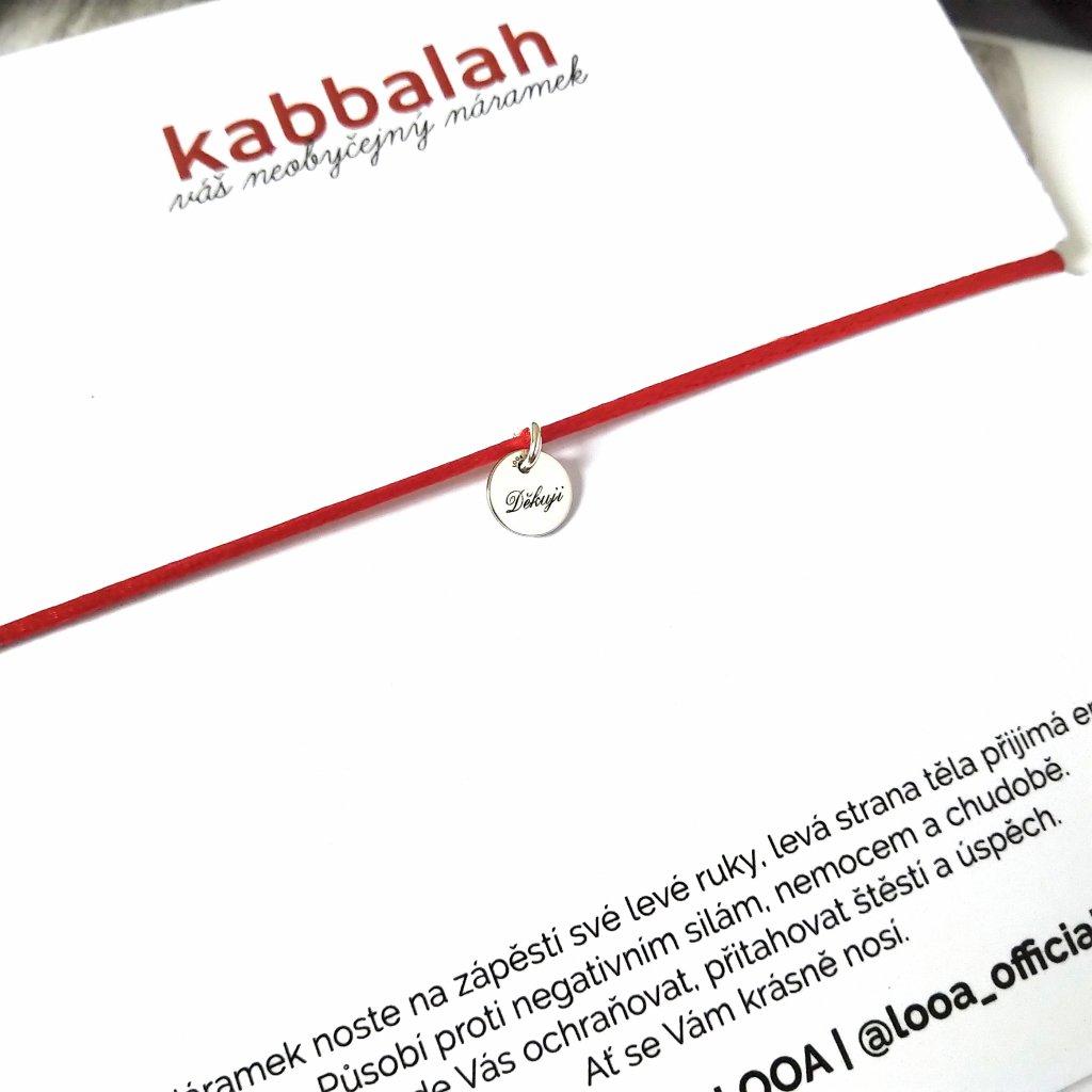 Děkuji, kabbalah LOOA