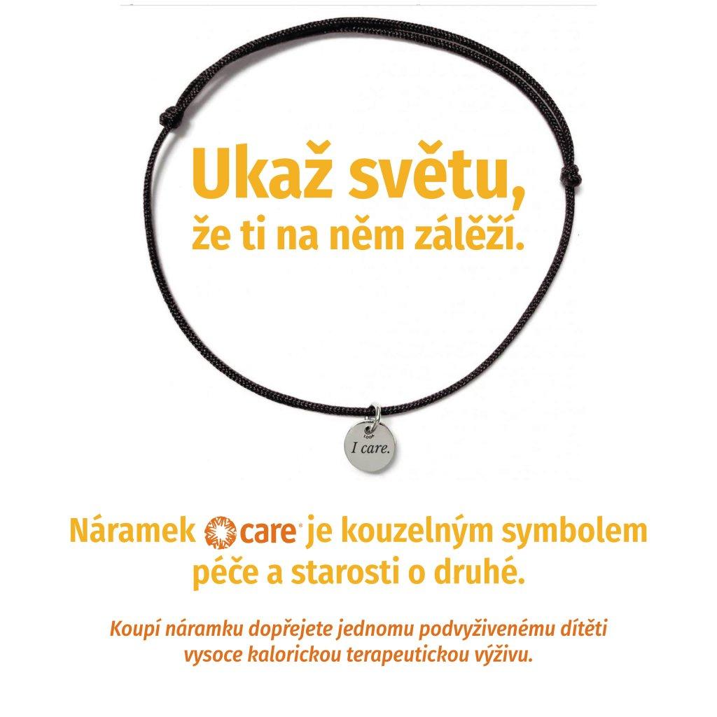 banner I care, náramky LOOA