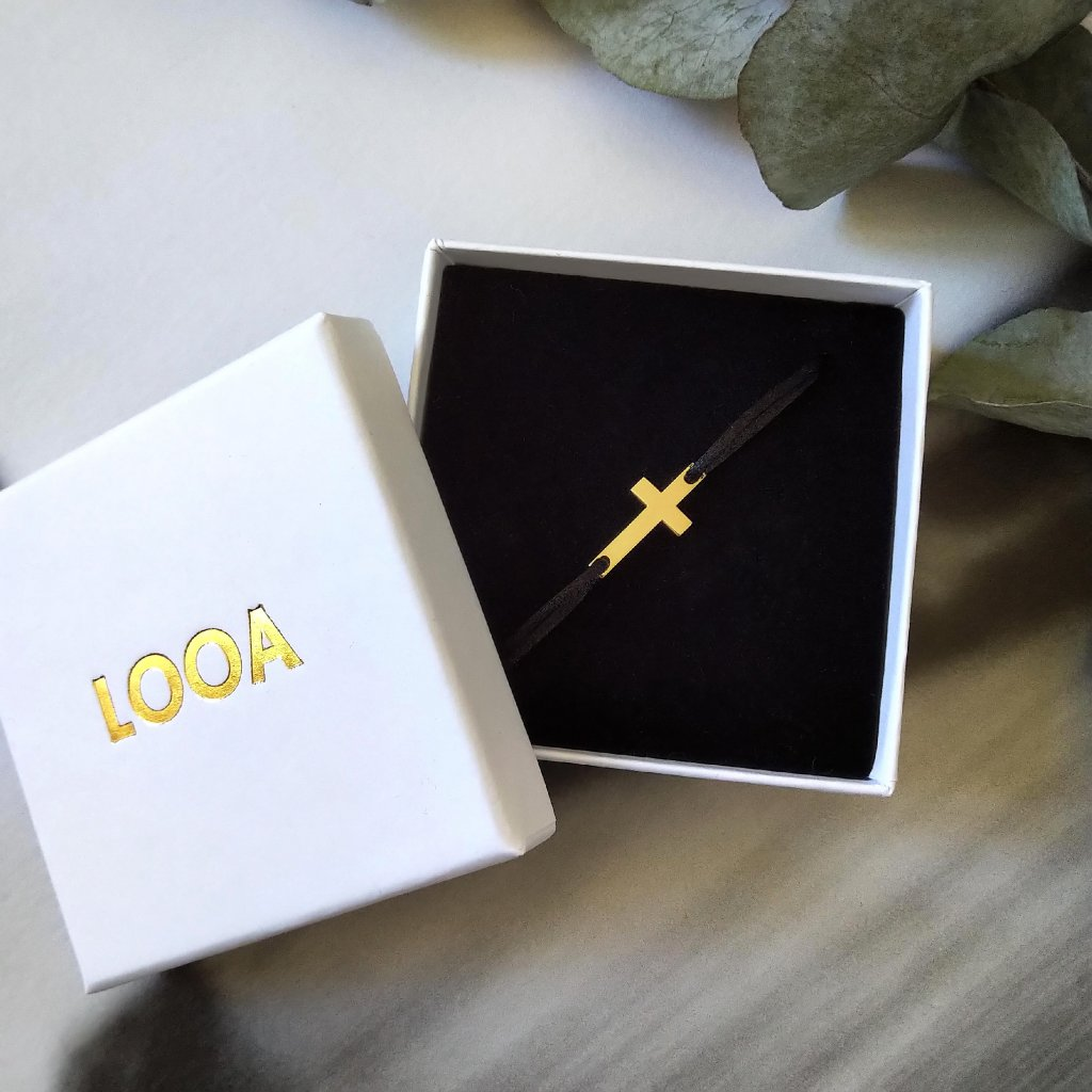 kžížek žluté zlato LOOA