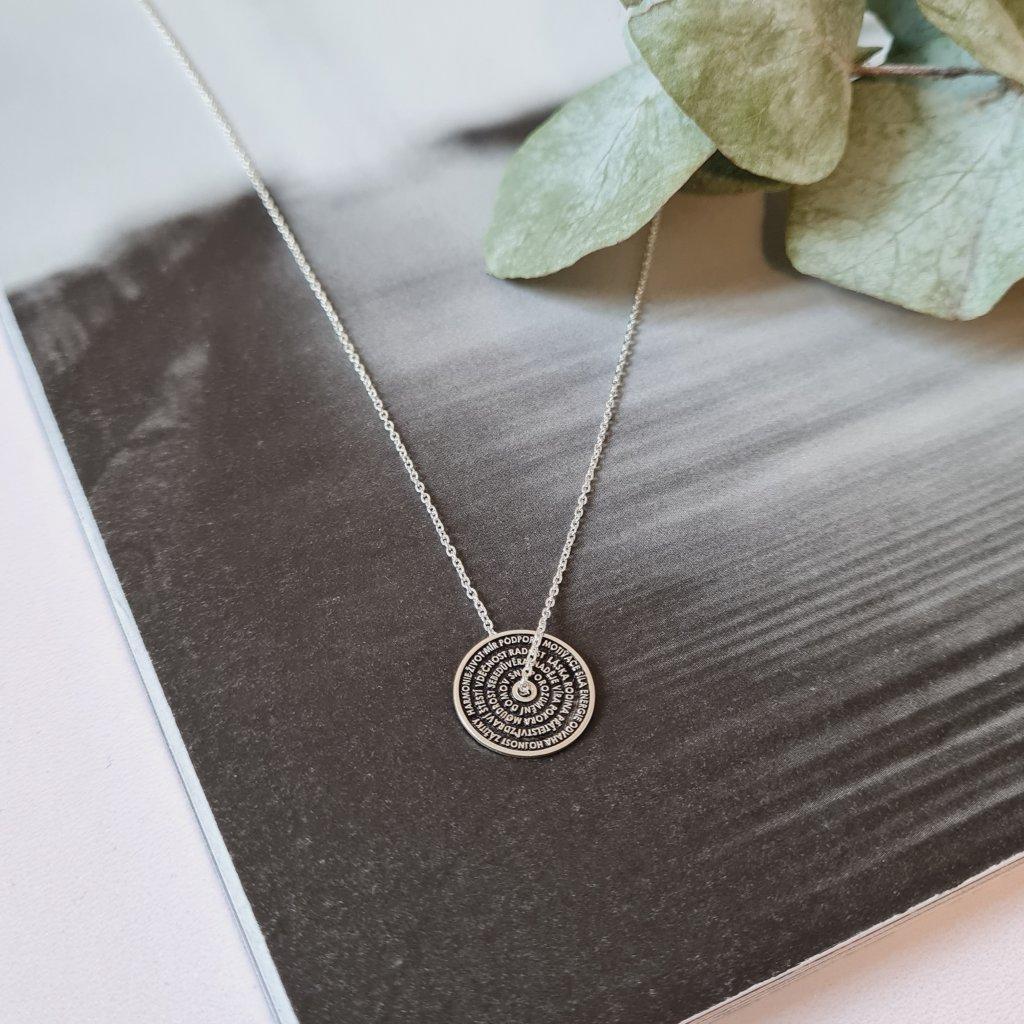 talisman šťastného života stříbro vyjímečný šperk náramek looa