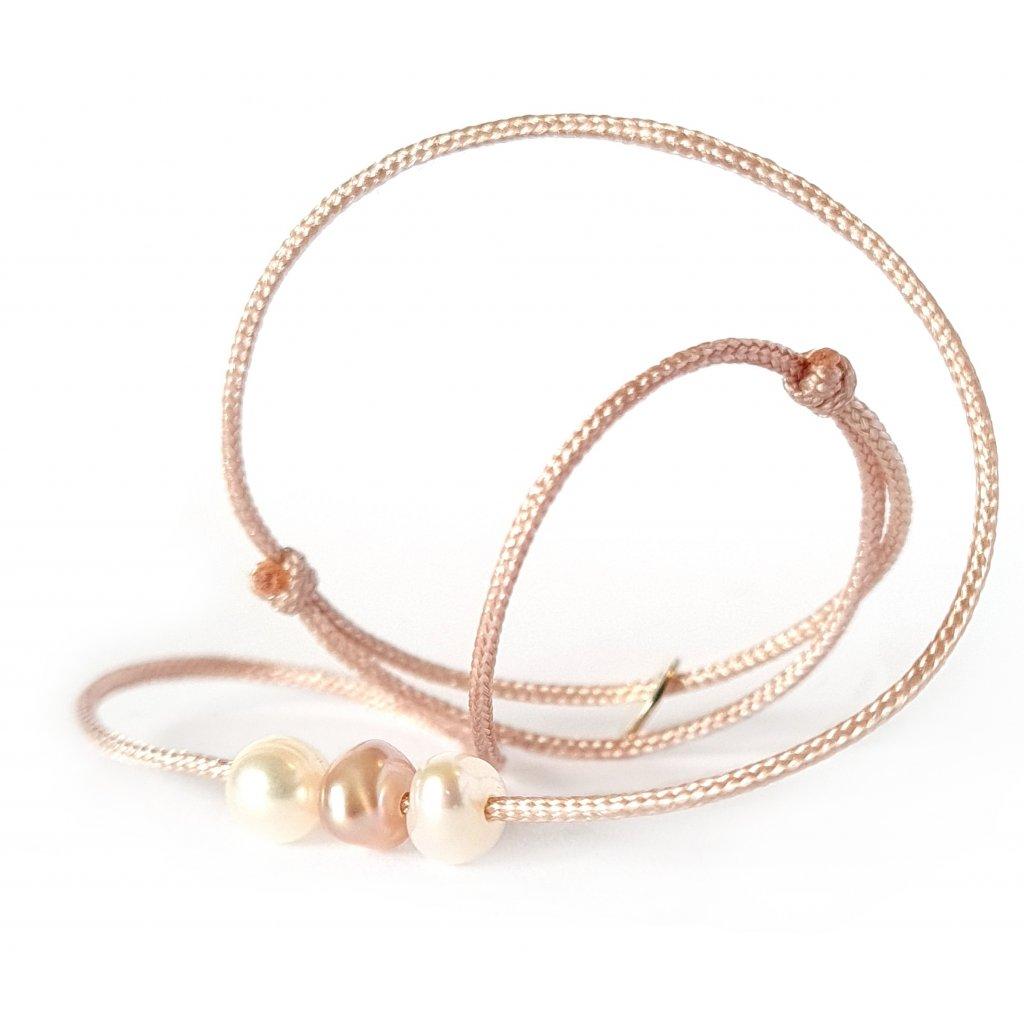 perlový náramek looa šperky brno