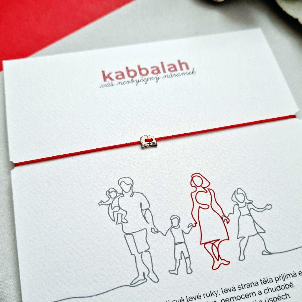 kabbalah kniha LOOA šperky Brno zlato stříbro pozlacené stříbro červená šňůrka