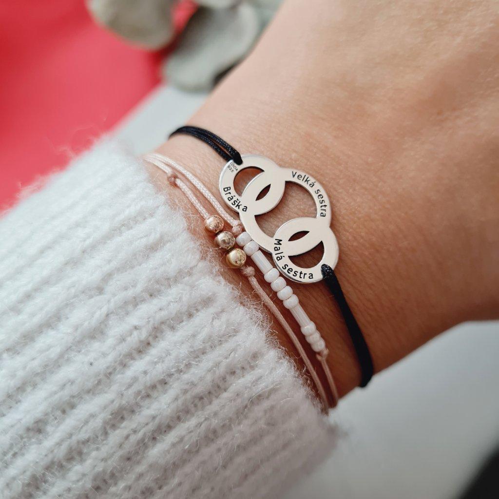 kroužky LOOA šperky s příběhem looa váš příběh