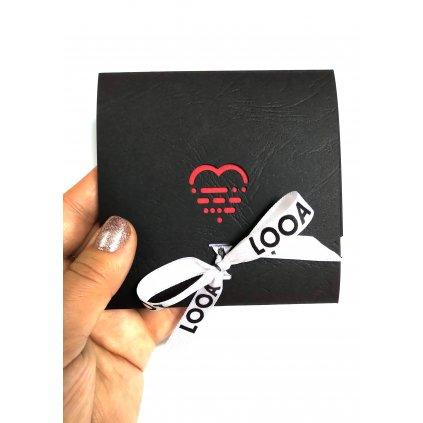 dárkový obal LOOA, kolekce LOVE vánoce 2019