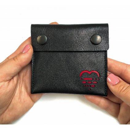 peněženka LOOA, černá