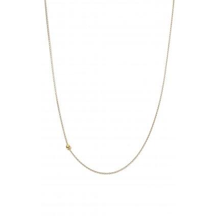 Jeden mezi všemi, zlato a stříbro, náhrdelník, LOOA