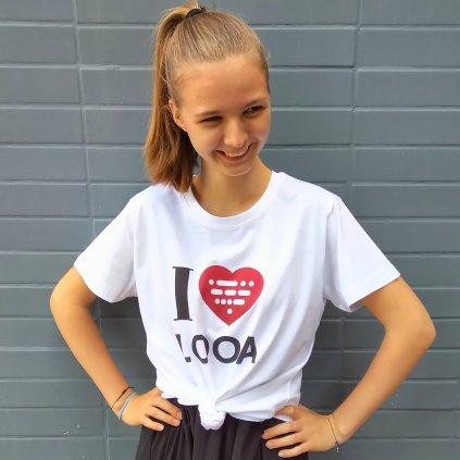 Tričko I LOVE LOOA