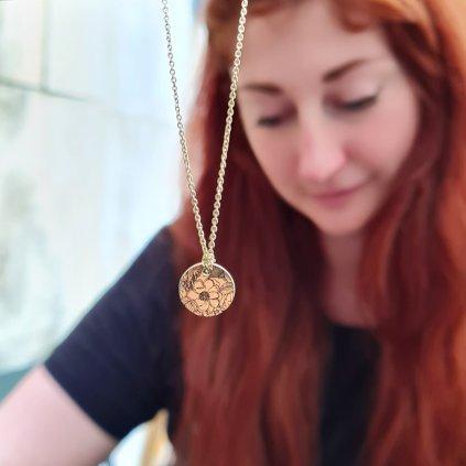 Ivana Lévková Brno šperky pro looa kvetu jako louka