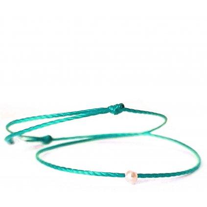 perlový náramek looa mini šperky brno tyrkys