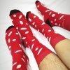 Ponožky LOOA // Morseova abeceda