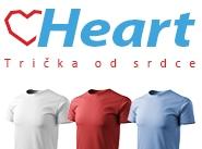 Heart - Trička od srdce