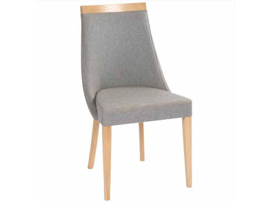 Dřevěná židle Paged Swing (Skupina čalounění Skupina 4)