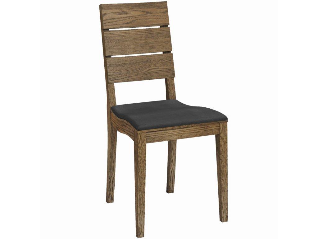 Dřevěná židle Paged Brand (Skupina čalounění Skupina 4)