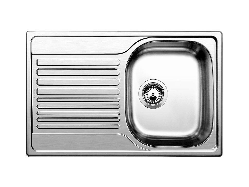 Nerezový dřez Blanco TIPO 45 S Compact Nerez profilovaný oboustranné provedení