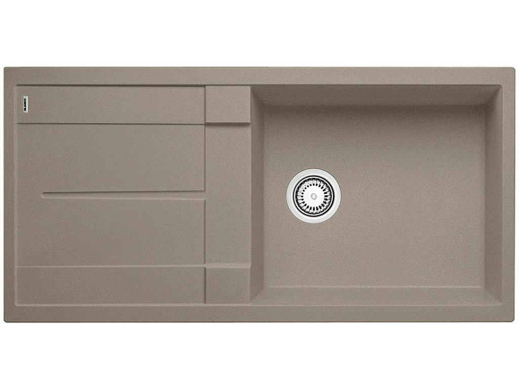Granitový dřez Blanco METRA XL 6 S Silgranit tartufo oboustranné provedení 517359