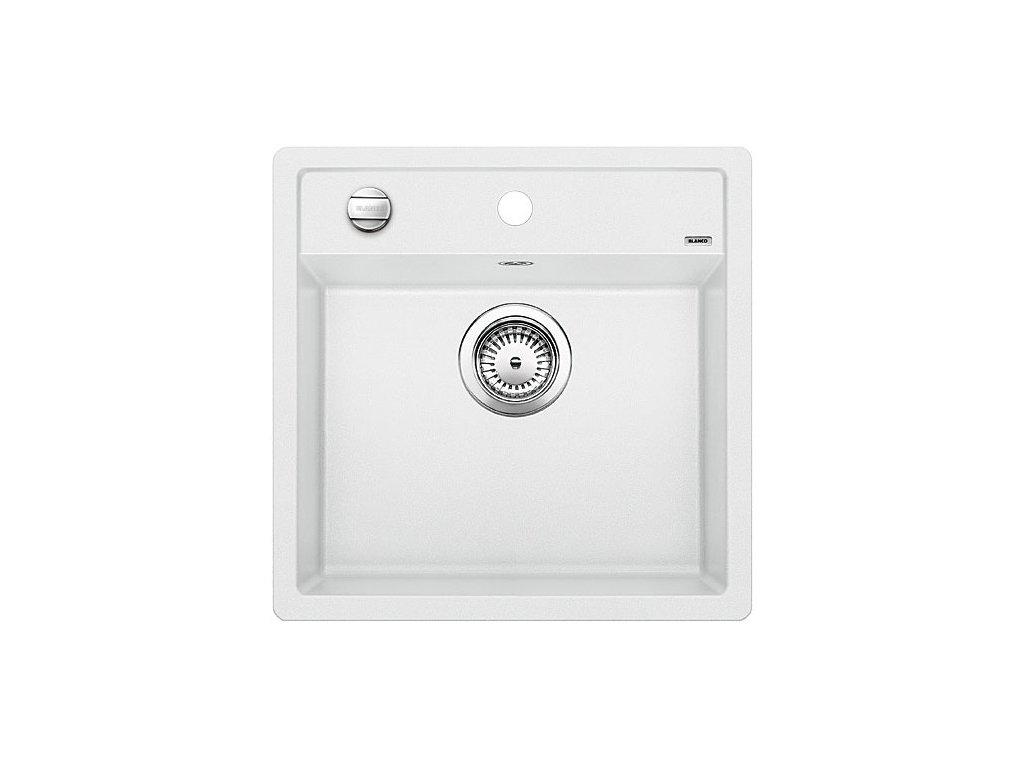Granitový dřez Blanco DALAGO 5 Silgranit bílá oboustranné provedení s excentrem 518524