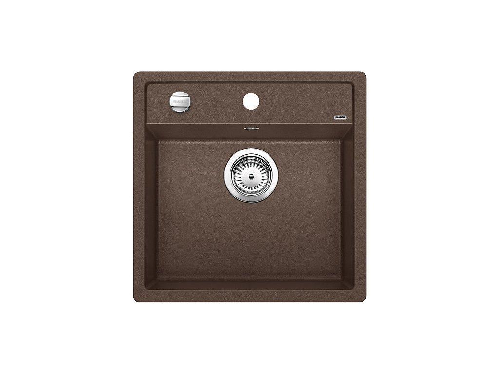 Granitový dřez Blanco DALAGO 5 Silgranit kávová oboustranné provedení s excentrem 518529