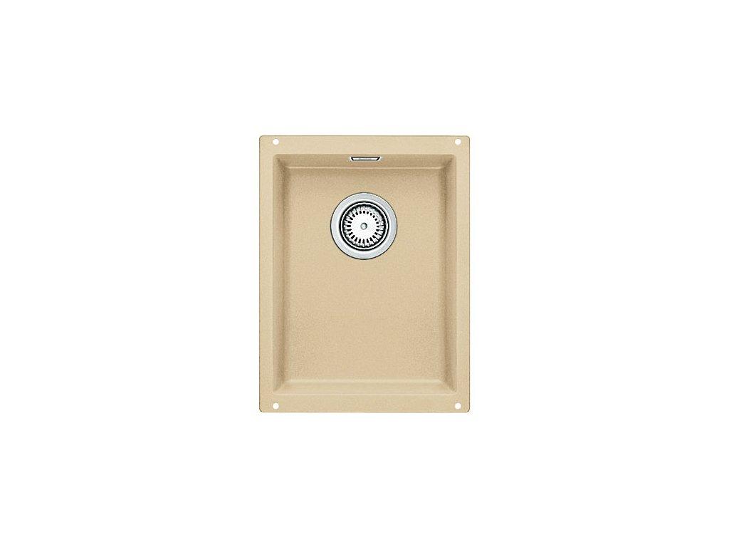 Granitový dřez Blanco SUBLINE 320-U Silgranit béžová champagne s táhlem 513952
