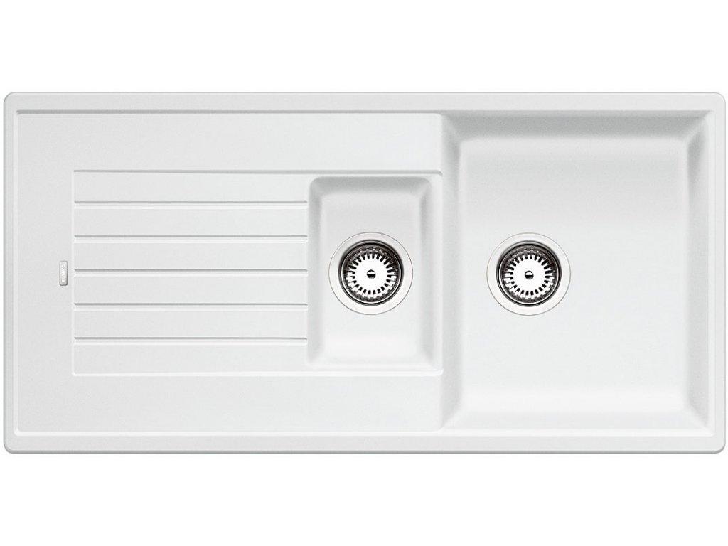 Granitový dřez Blanco ZIA 6 S Silgranit bílá oboustranné provedení přísluš. ano 514742