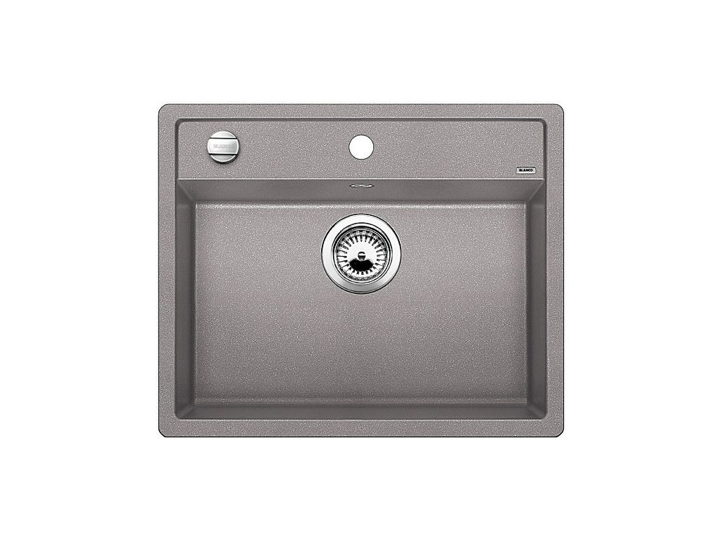 Granitový dřez Blanco DALAGO 6 F Silgranit aluminium s excentrem 514770
