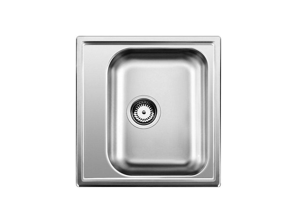 Nerezový dřez Blanco LIVIT 45 Nerez kartáčovaný oboustranné provedení 514785