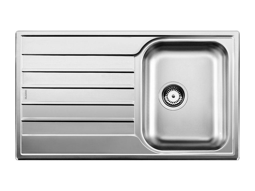 Nerezový dřez Blanco LIVIT 45 S Salto Nerez kartáčovaný oboustranné provedení