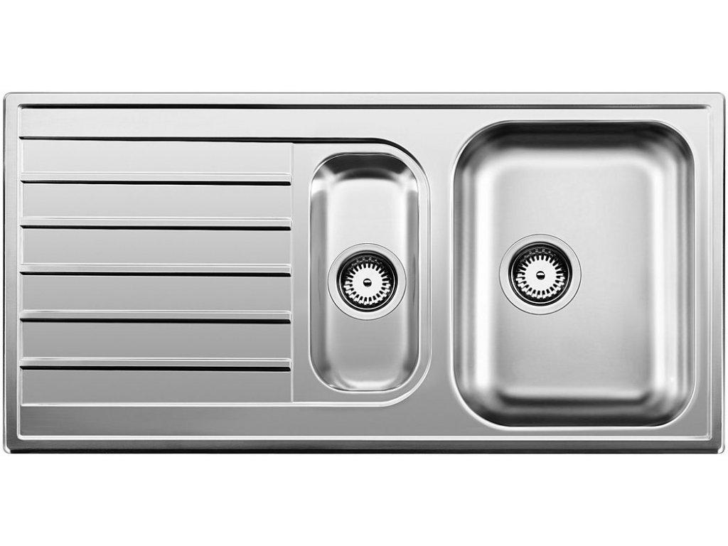 Nerezový dřez Blanco LIVIT 6 S Nerez kartáčovaný oboustranné provedení - bez misky