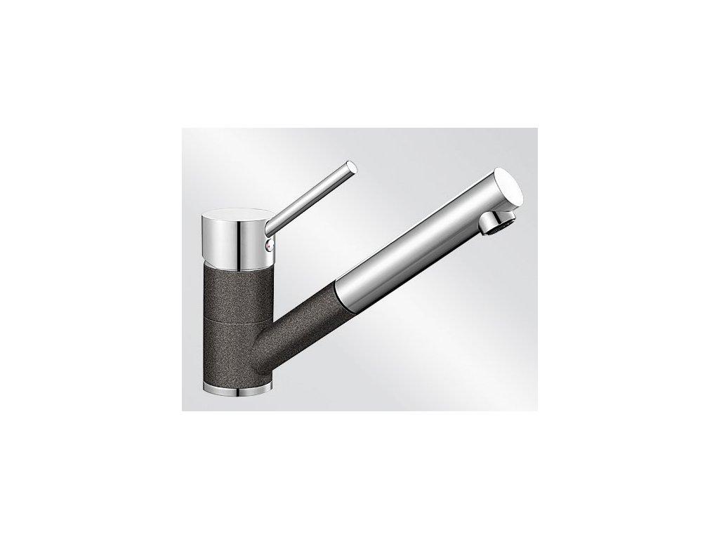 Kuchyňská baterie Blanco ANTAS-S HD Silgranit-look dvoubarevná antracit/chrom