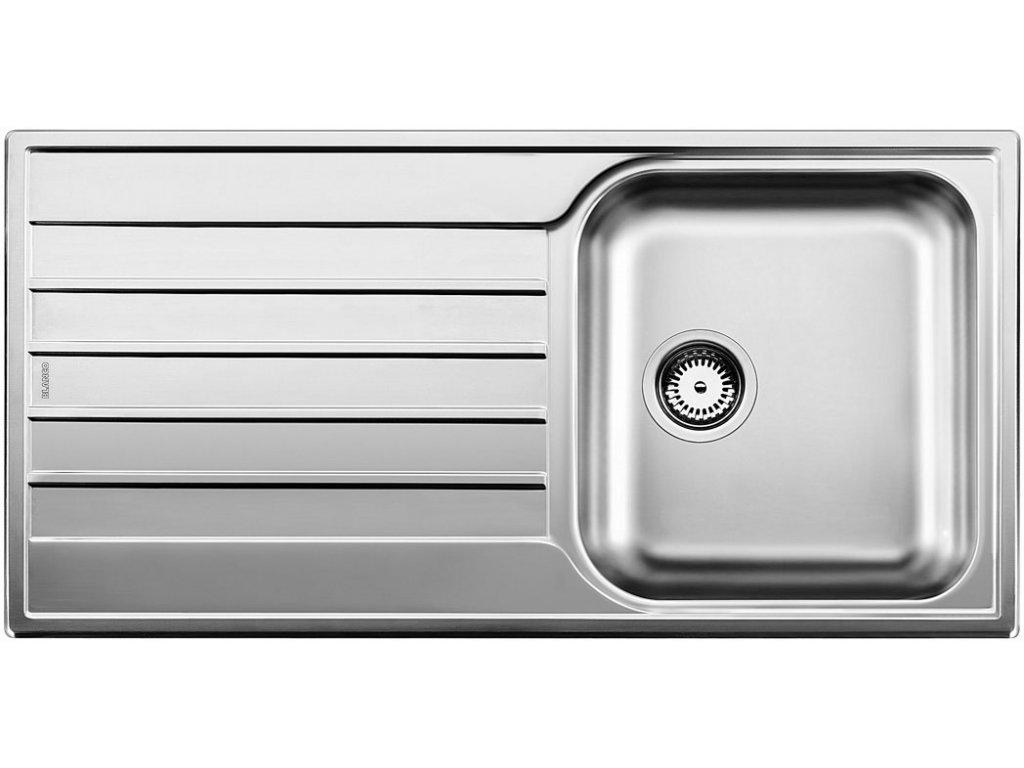 Nerezový dřez Blanco LIVIT XL 5 S Nerez kartáčovaný oboustranné provedení 515651