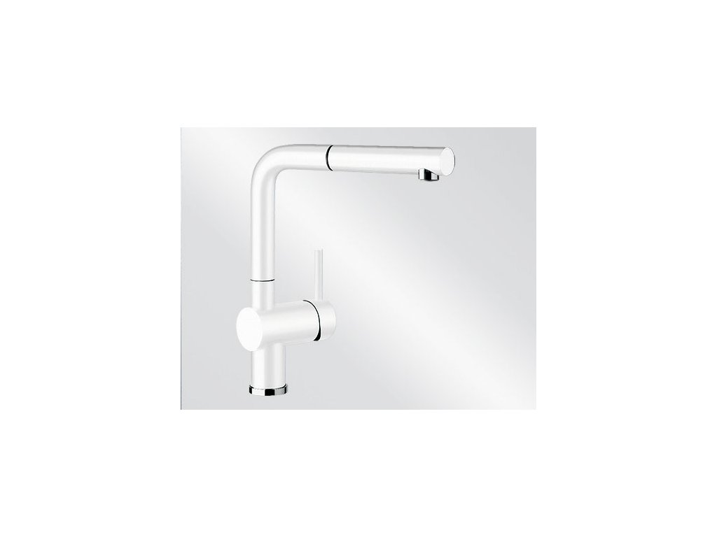 Kuchyňská baterie Blanco LINUS-S Silgranit-look bílá