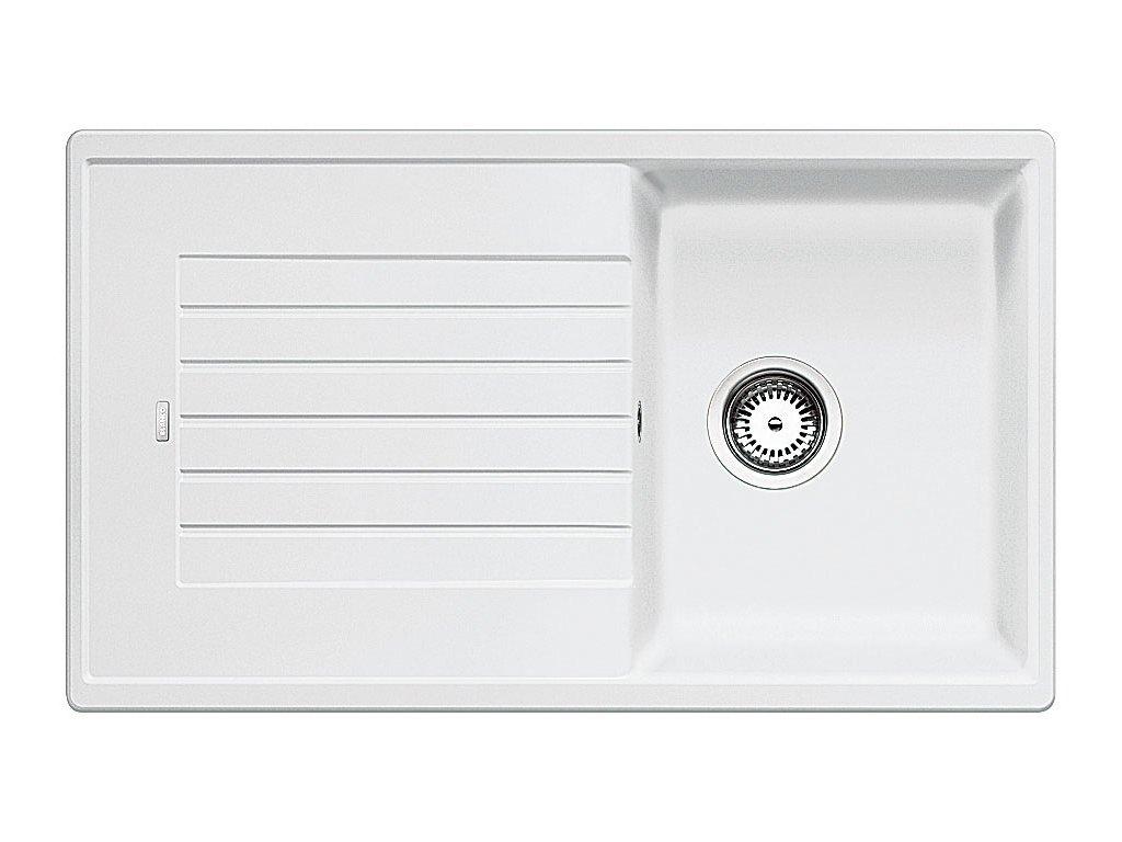 Granitový dřez Blanco ZIA 45 SL Silgranit bílá oboustranné provedení 516740