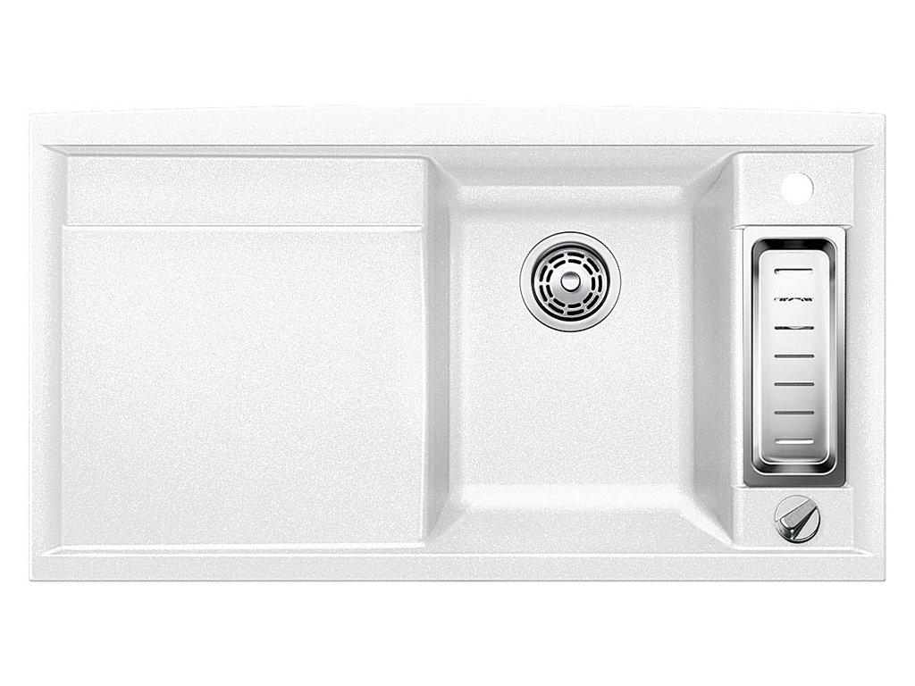 Granitový dřez Blanco AXIA II 5 S Silgranit bílá dřez vpravo s excentrem přísluš. ano 516805