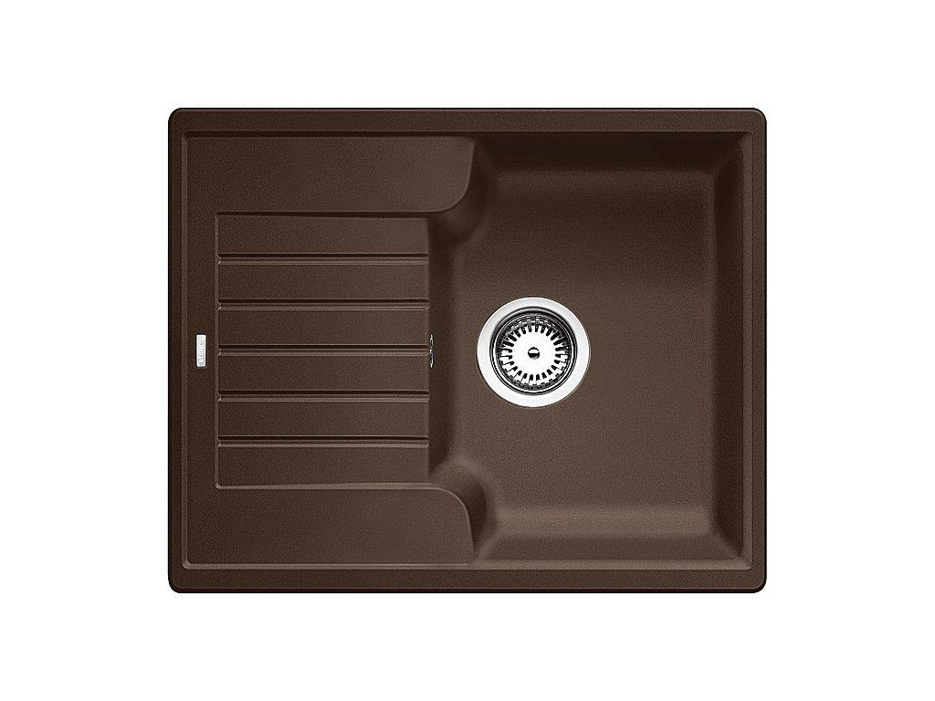 Granitový dřez Blanco ZIA 40 S Silgranit kávová oboustranné provedení 516927