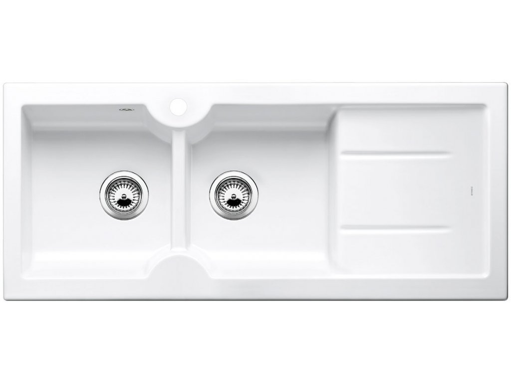 Keramický dřez Blanco IDESSA 8 S Keramika zářivě bílá dřez vlevo 516939