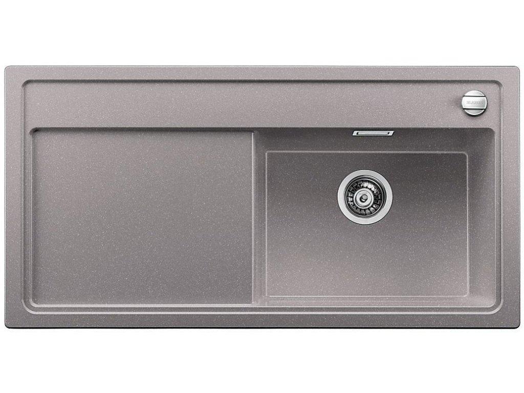 Granitový dřez Blanco ZENAR XL 6 S Silgranit aluminium dřez vlevo s excentrem 516952