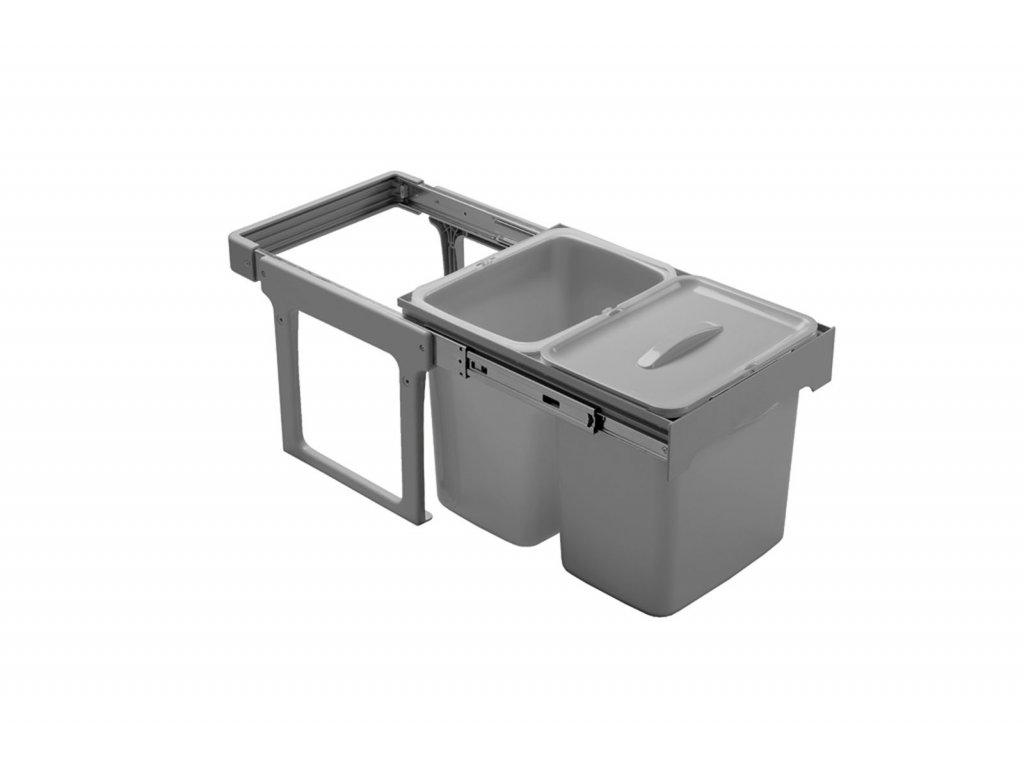 Odpadkový koš Sinks EKKO EASY 40 2x16l