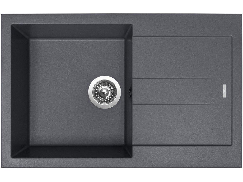 Granitový dřez Sinks AMANDA 780 Titanium